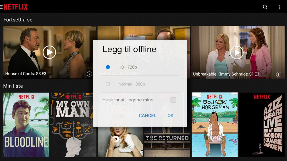 Derfor vil ikke Netflix tilby «offline»-titting