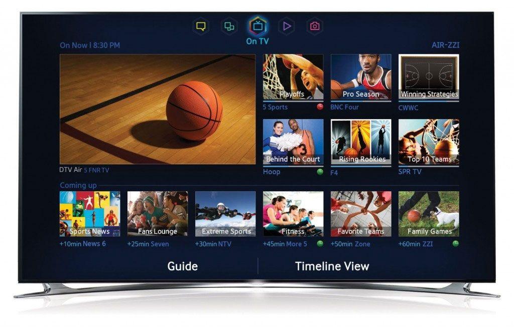 Samsungs nye smart-TV-plattform.Foto: Samsung