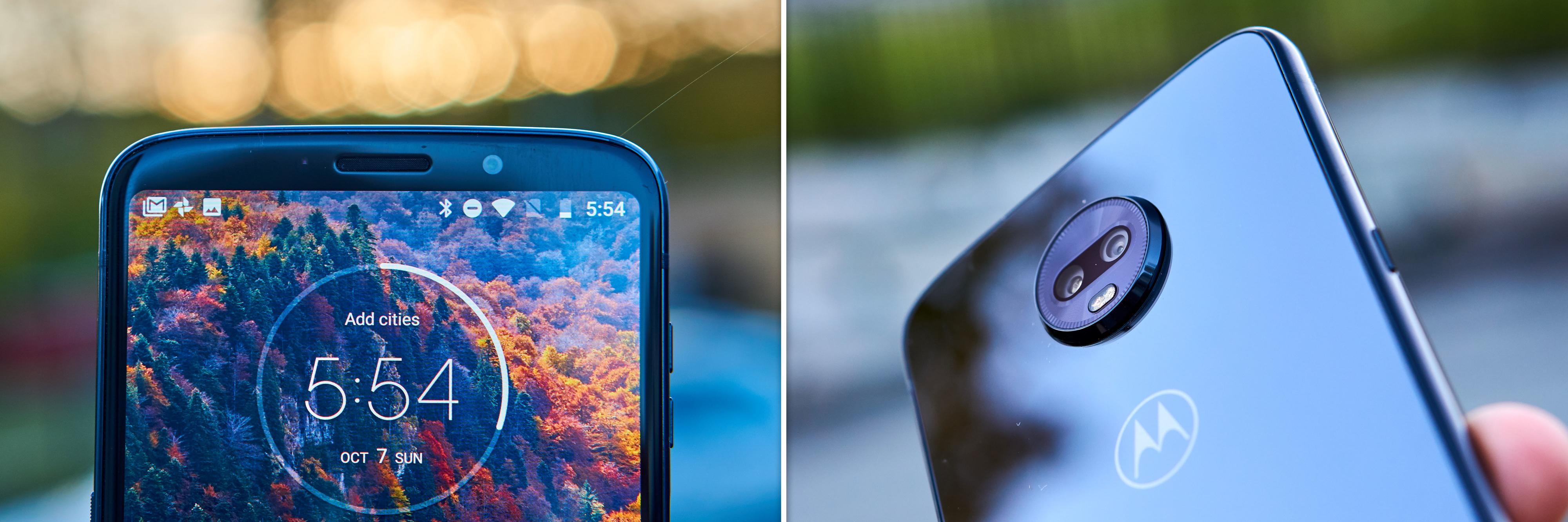 Både de to kameraene bak og det éne foran er knallgode.