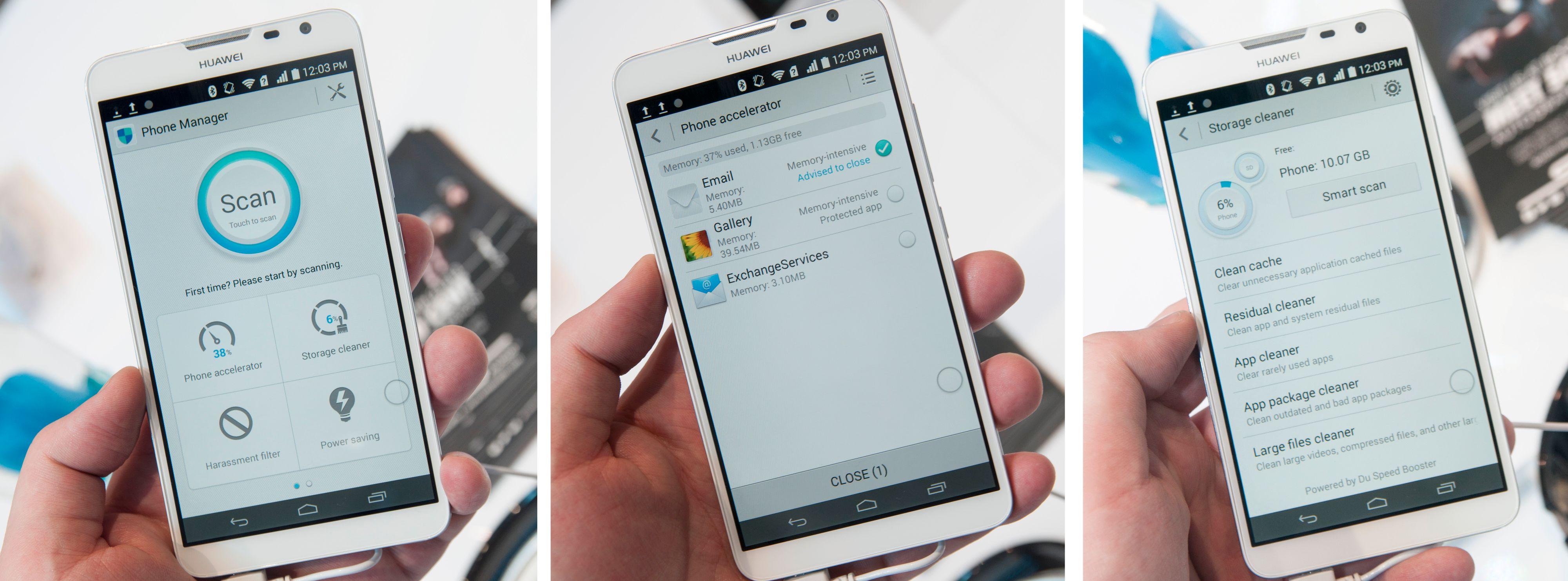 Huawei har den siste tiden begynt å bygge inn svært så nyttig funksjonalitet i Android.Foto: Finn Jarle Kvalheim, Amobil.no