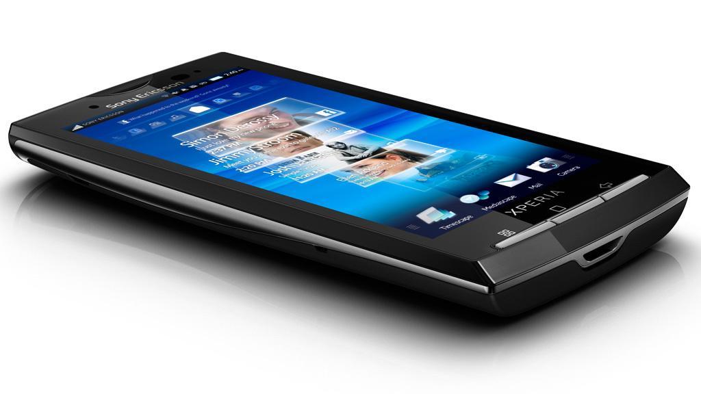 Sony Ericsson Xperia X10 får multitouch