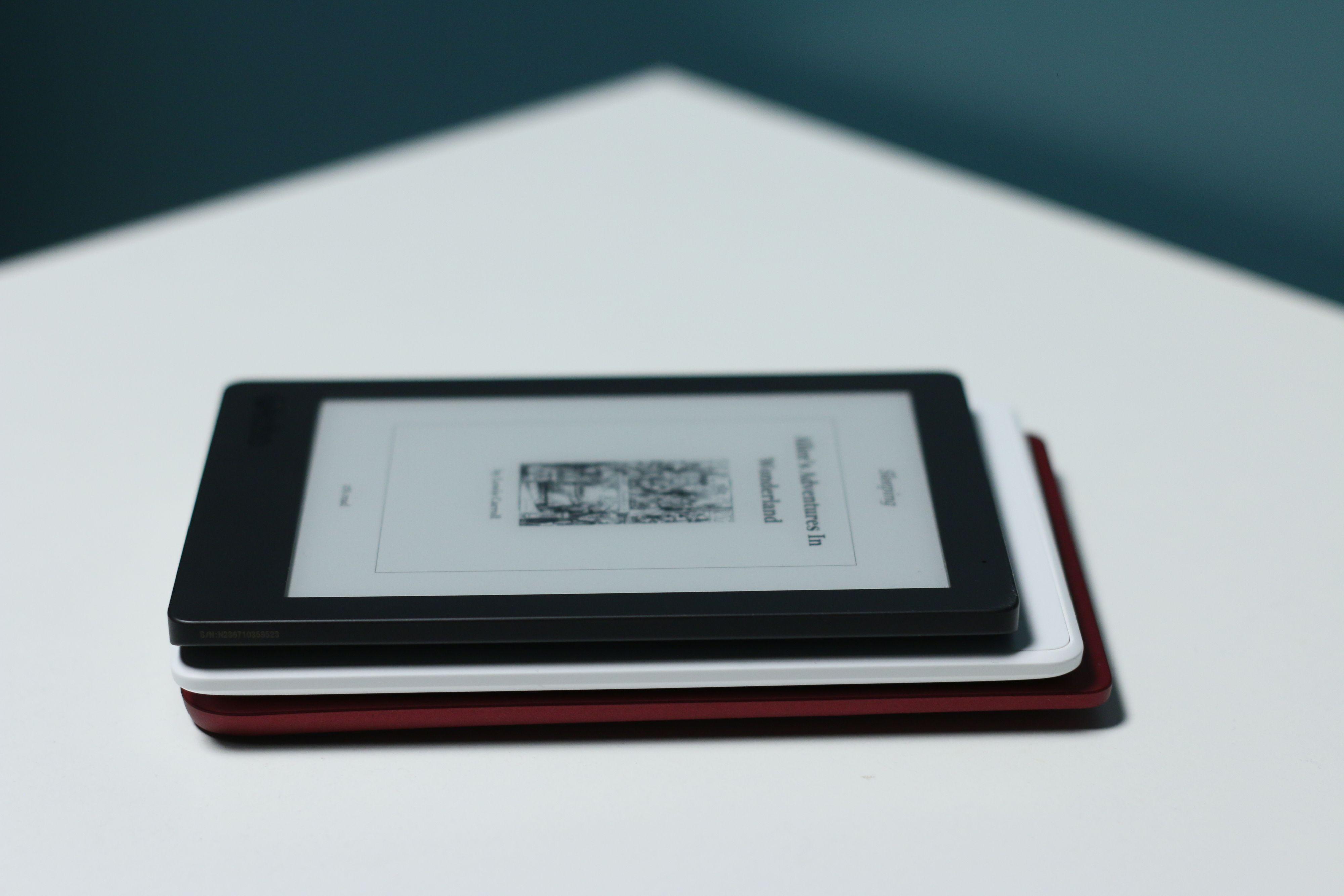 PocketBook er det lengste av de tre lesebrettene.