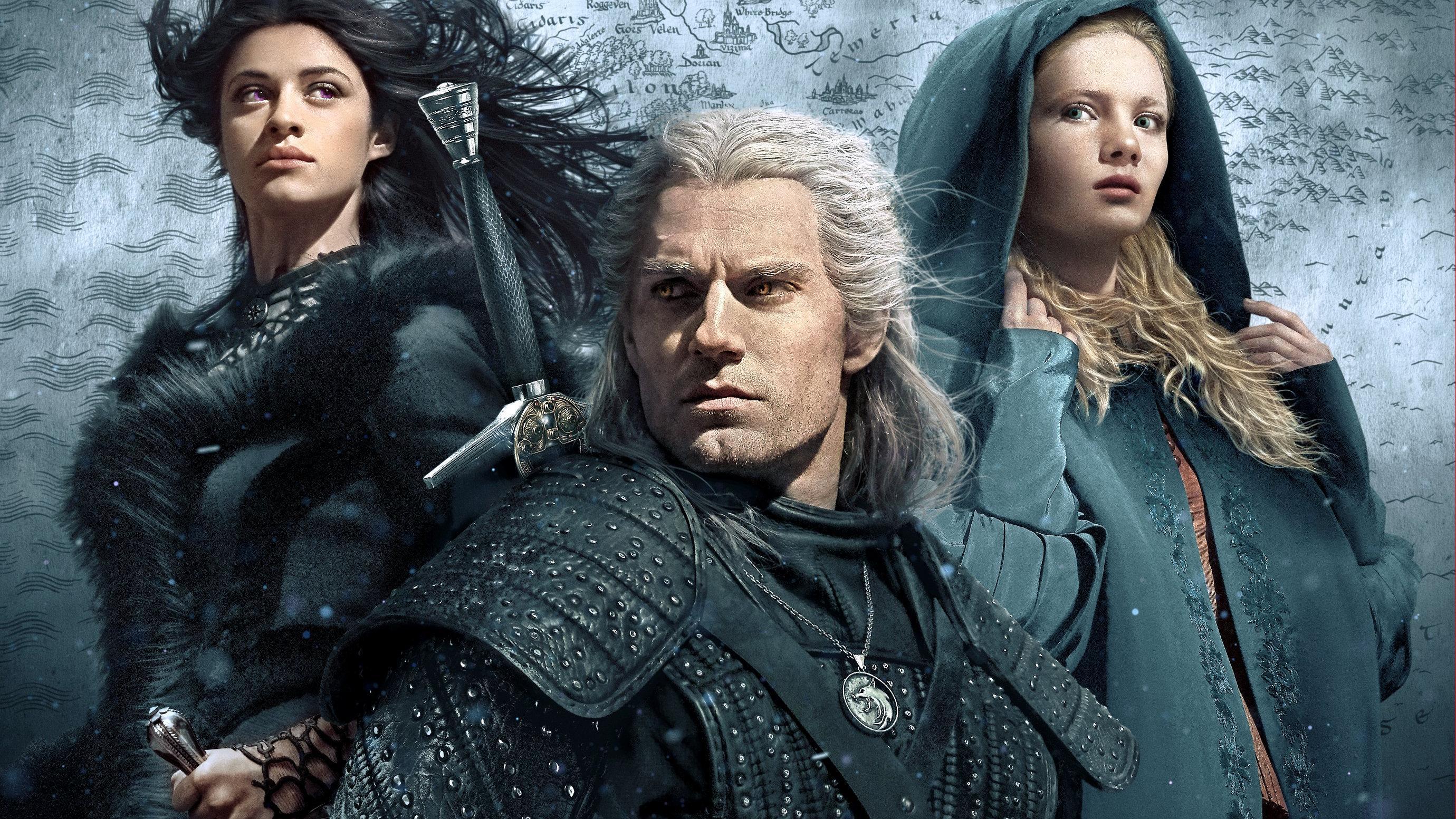Nye bilder fra den neste sesongen av The Witcher har lekket