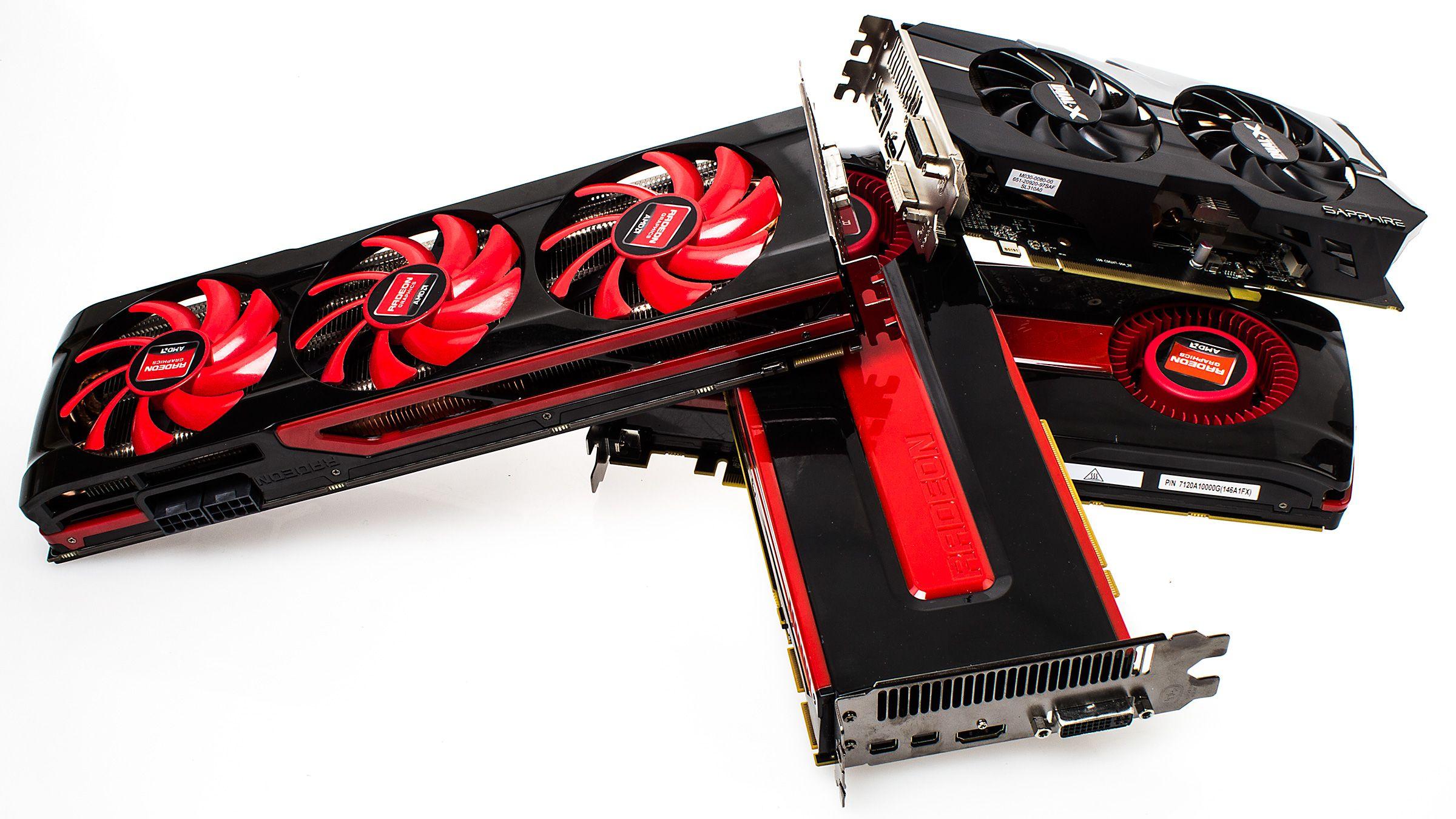 På Radeon-fronten er det enn så lenge kun HD 7000-serien vi har testet med gamle drivere.Foto: Varg Aamo, Hardware.no