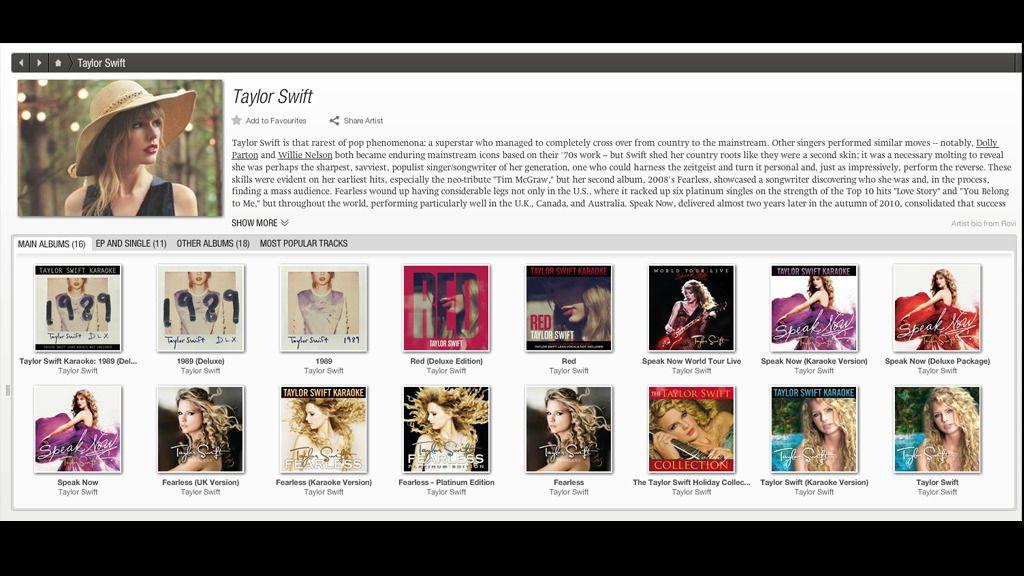 Slik så den gamle desktop-appen til TIDAL ut.