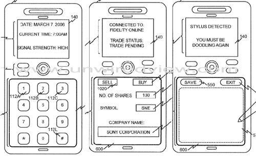 Dersom denne designen slår til får du skjerm i stedet for taster.