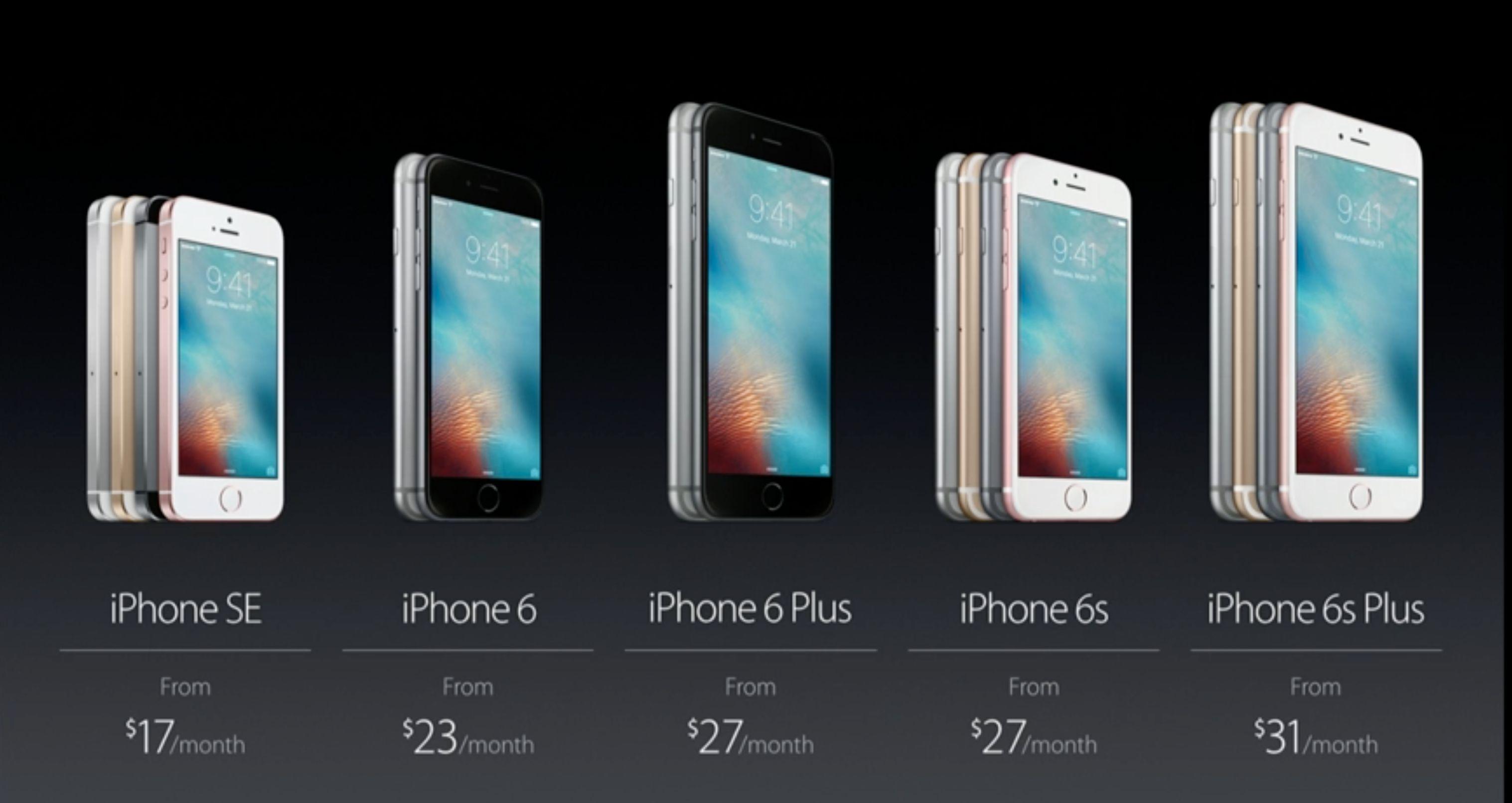 Slik ser den nye iPhone-familien ut. Norge får den nye iPhonen trolig i løpet av mai.