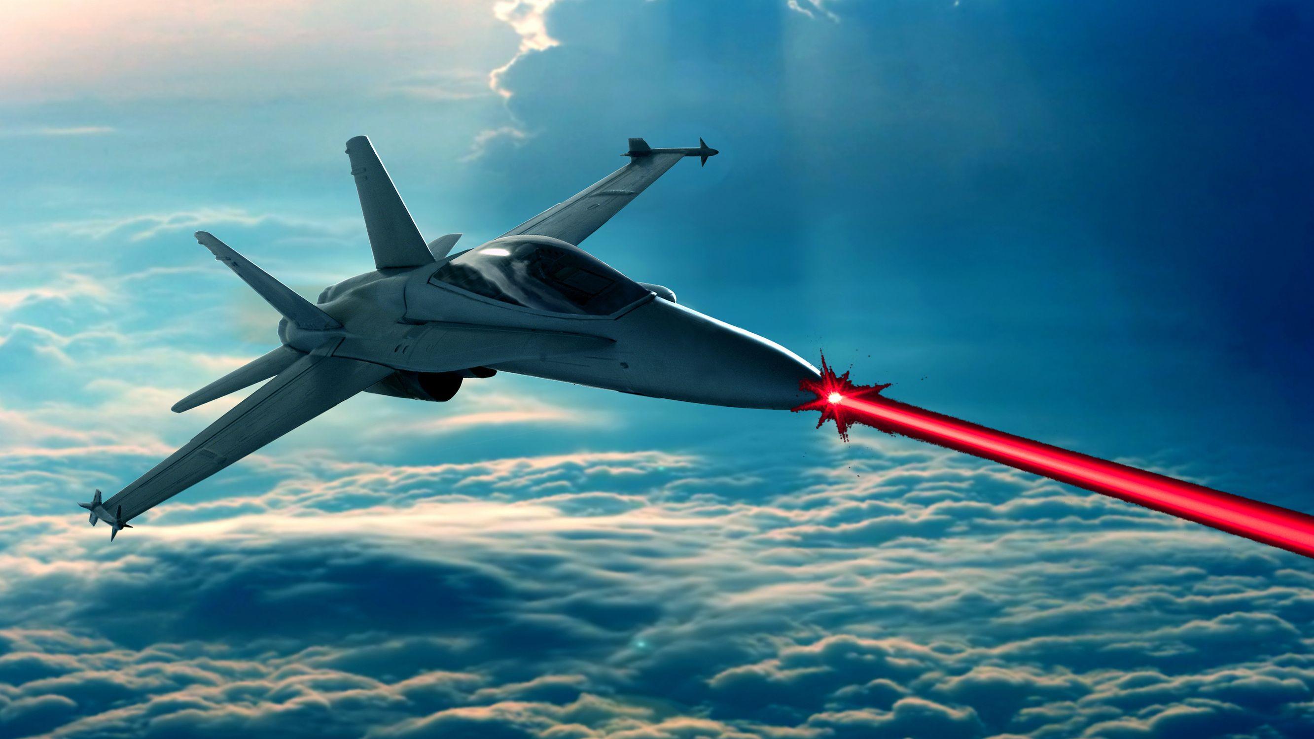 Jagerflyene kan bli utstyrt med laservåpen om få år