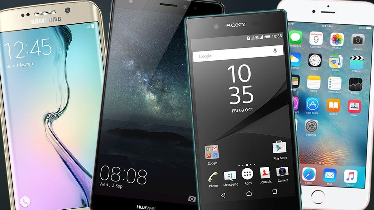 Disse toppmodellene er nominert til årets mobiltelefon