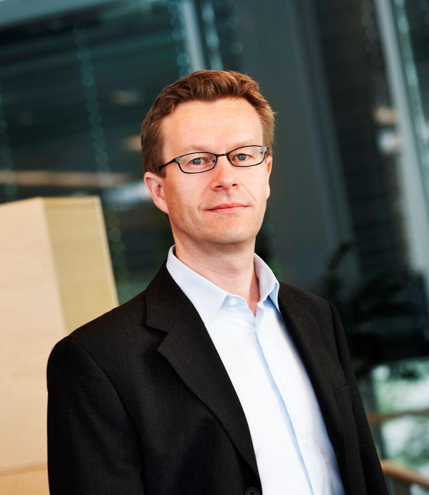 Administrerende direktør Aksel Aanensen i Ericsson i Norge.Foto: Ericsson
