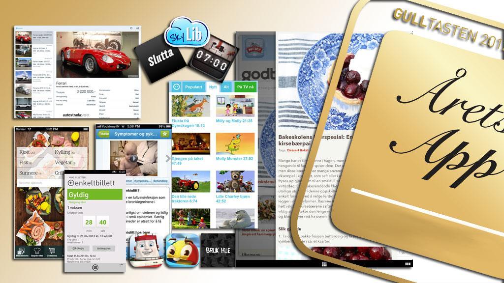 Tre app-kategorier på AppWorks, tre vinnere - og en av dem blir også Årets app på Gulltasten.Foto: montasje V.Haugen, Mobilen.no