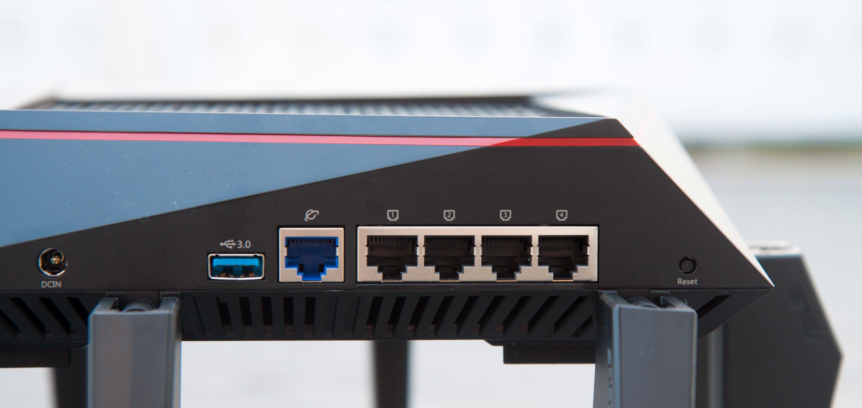 Broadcom-brikkesettet begrenser antallet Ethernet-utganger – men vi sier det igjen: vi skulle gjerne ønsket oss enda flere Ethernet-porter.