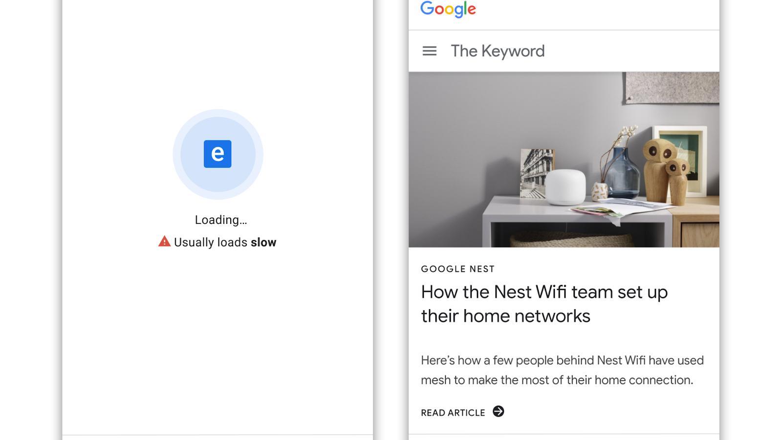 Google vil straffe treige nettsider