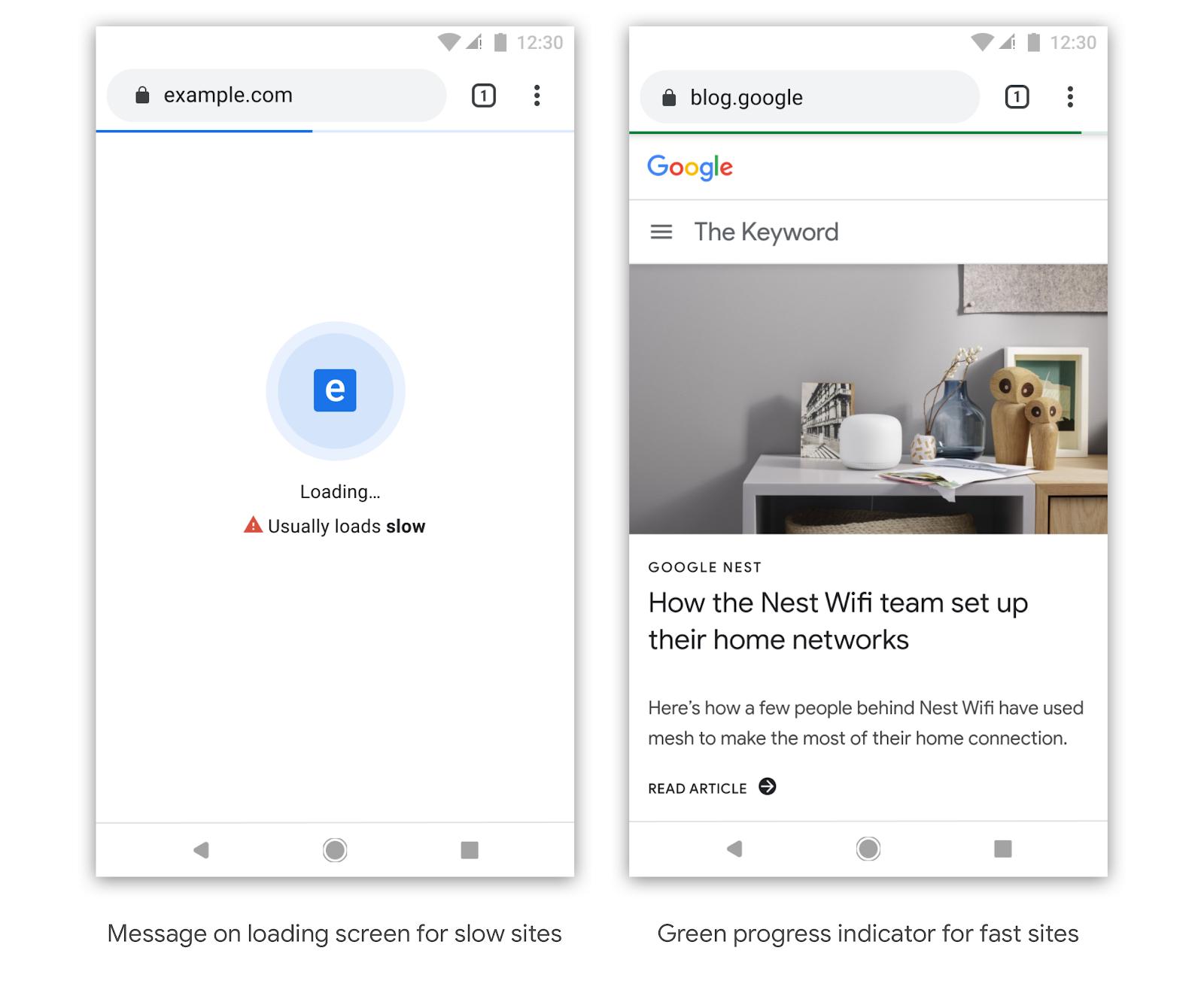 Chrome skal i fremtiden merke hvilke nettsider som er raske eller trege.