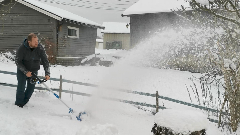 Elektriske snøskuffer