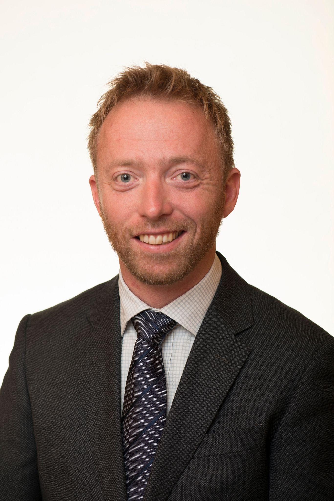 Statssekretær John-Ragnar Aarset.Foto: Olav Heggø/Fotovisjon