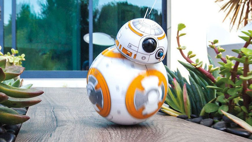 BB-8, roboten vi testet fra Sphero og som er hentet fra Star Wars-filmene.
