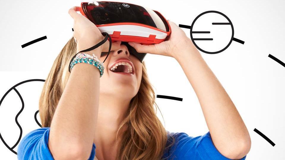 ViewMaster er et av produktene du finner i den nye VR-butikken.