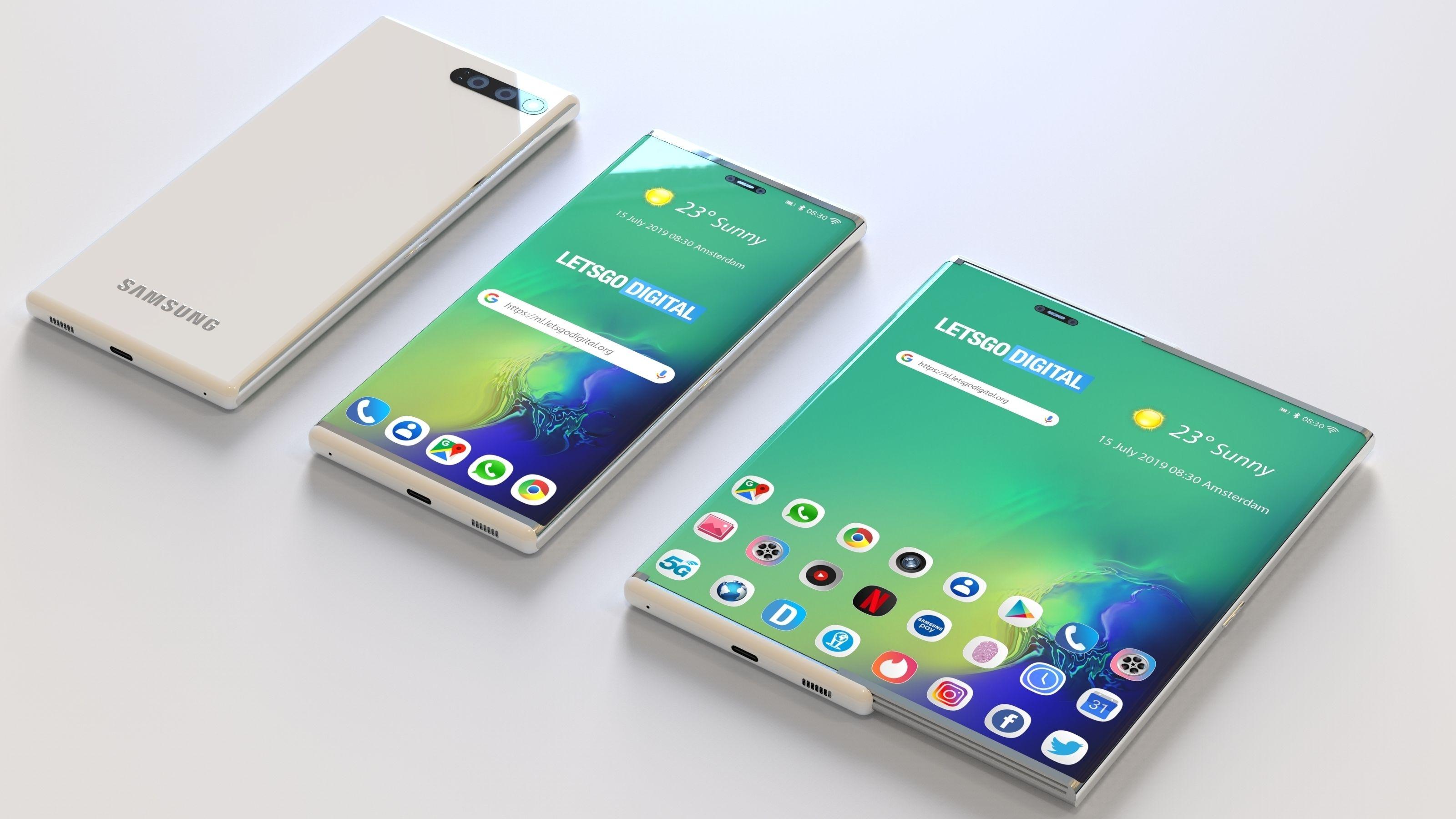 Samsung har patentert «rulletelefon»