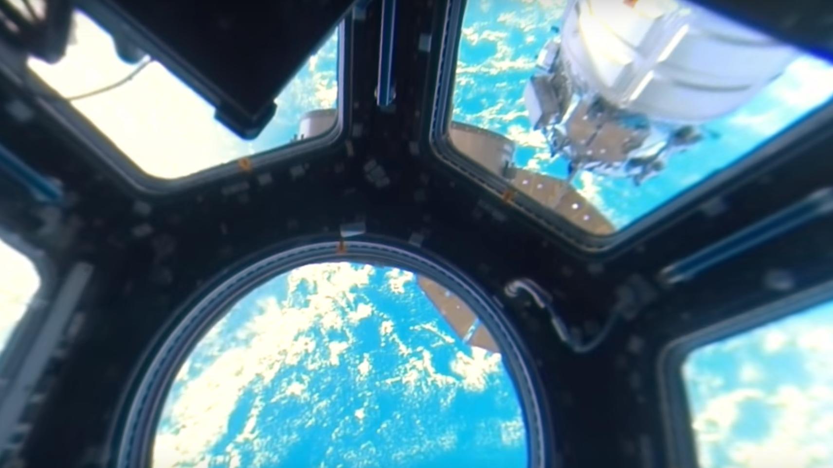Se den utrolige 360-gradersvideoen fra romstasjonen i 4K