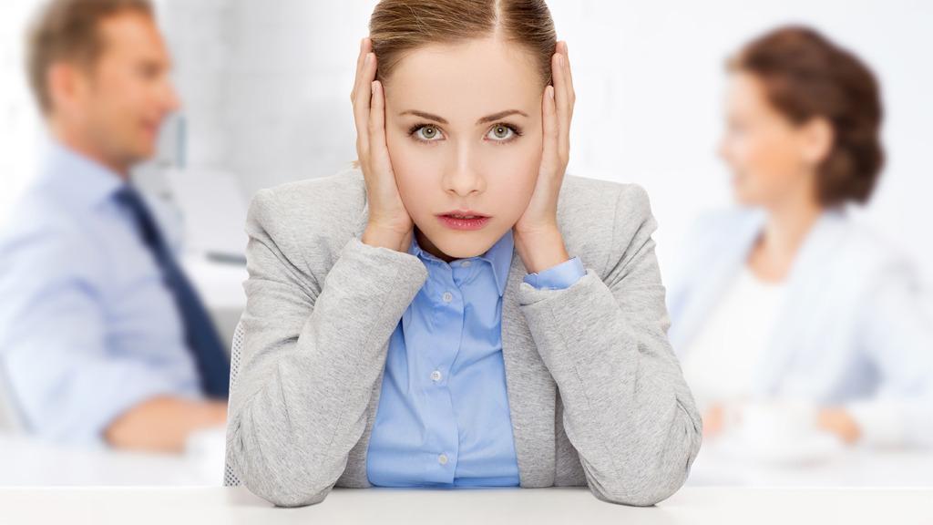 Støy på kontoret kan drepe all konsentrasjon. Foto: Shutterstock