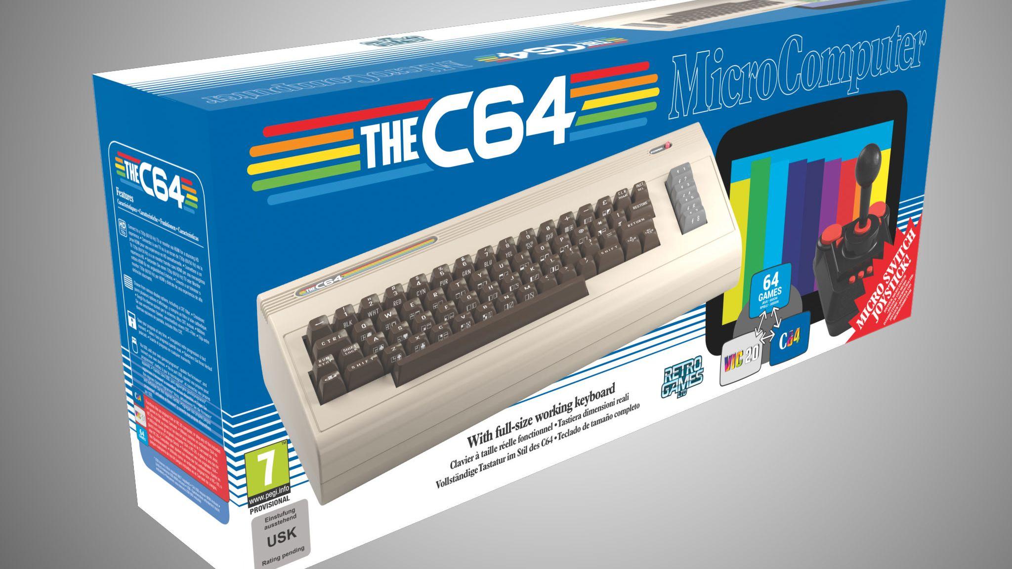 Commodore 64 blir født på ny