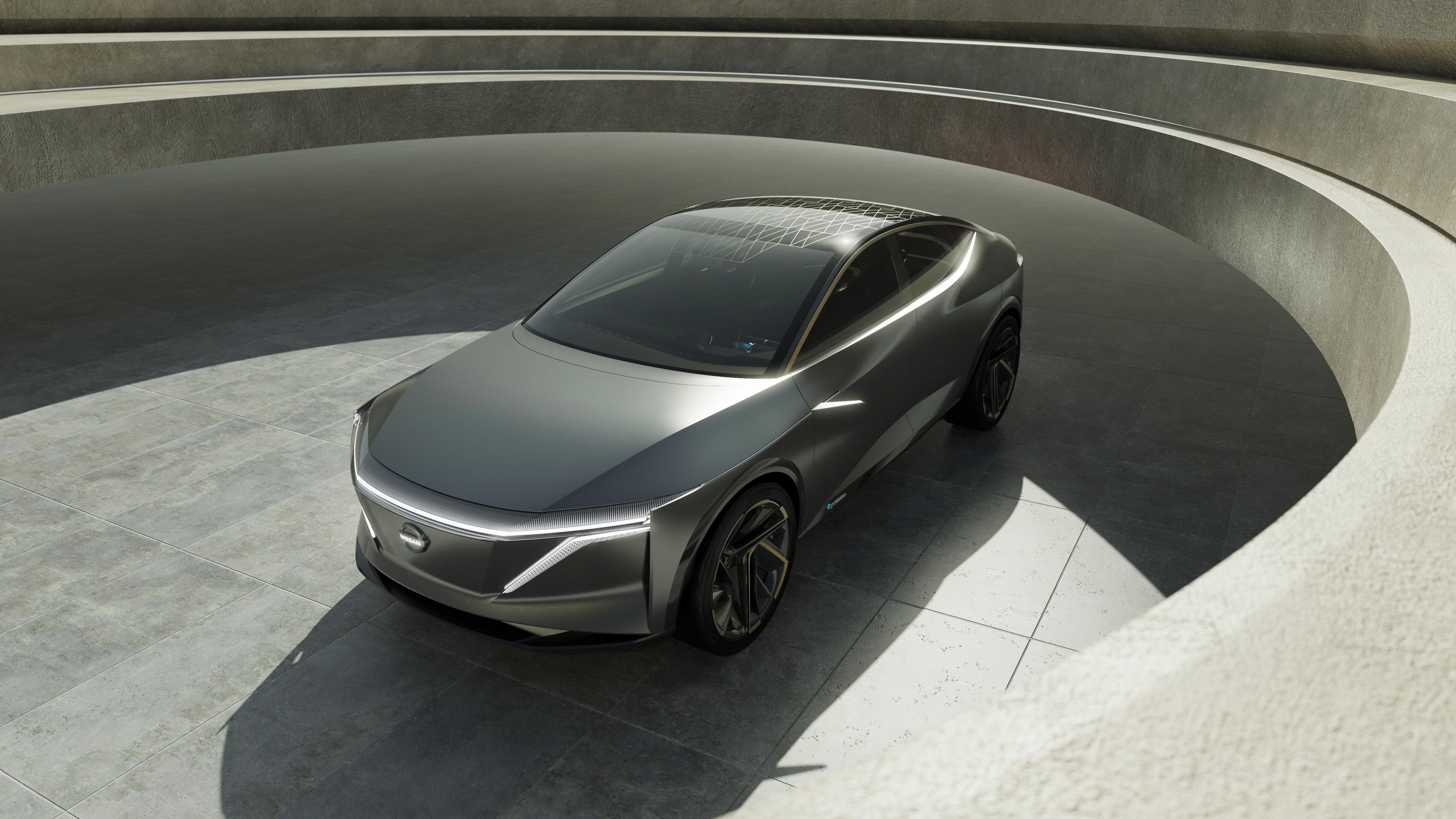Bilen har et futuristisk utseende
