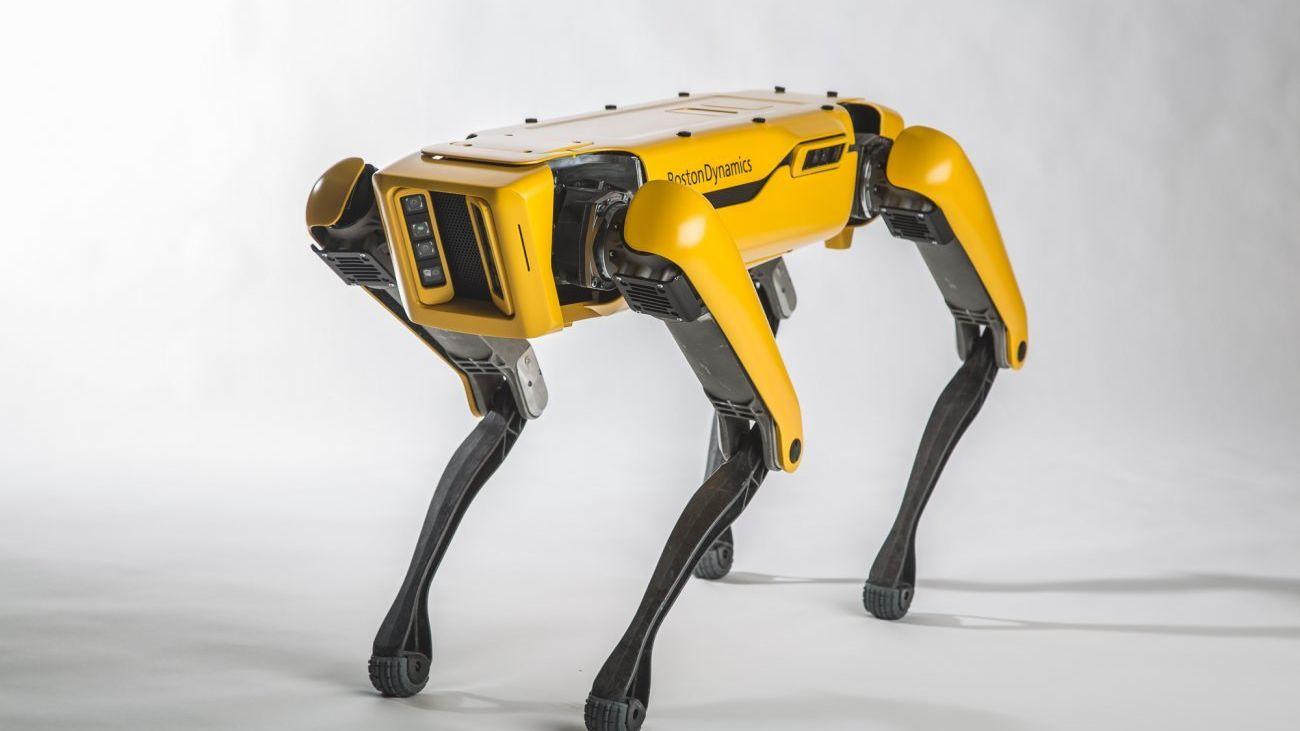 Se videoen av roboten som holder døren åpen for «vennen» sin