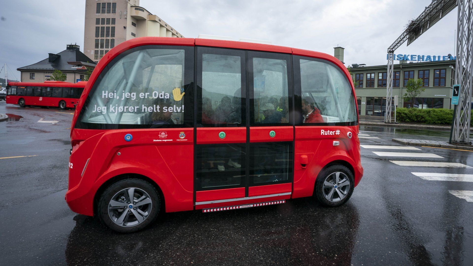 Ikke autopilot for selvkjørende busser