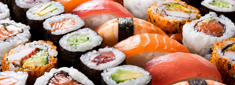 Sushi går att äta om den är nygjord.