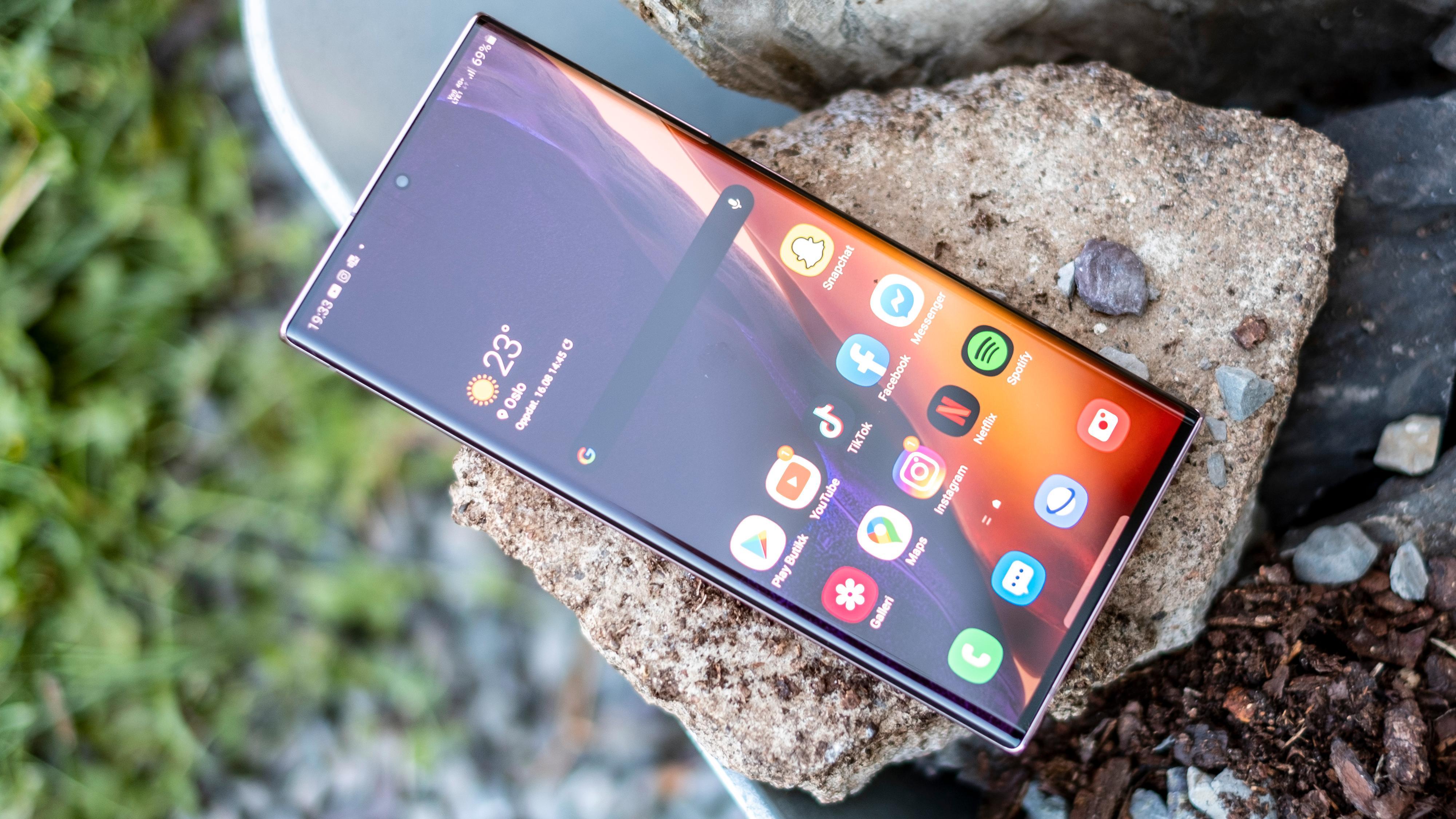 Galaxy Note 20 kan slippe inn feil fingeravtrykk