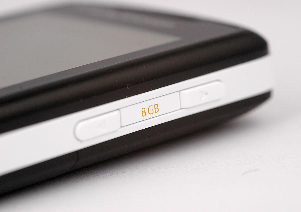8 GB under panseret.