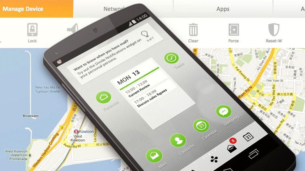 Google kjøper selskap som lar deg dele mobilen i to
