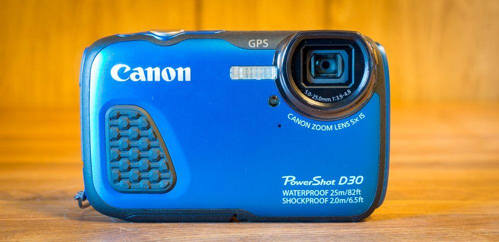 Canon PowerShot D30, enkelt, men godt. Foto: Kristoffer Møllevik