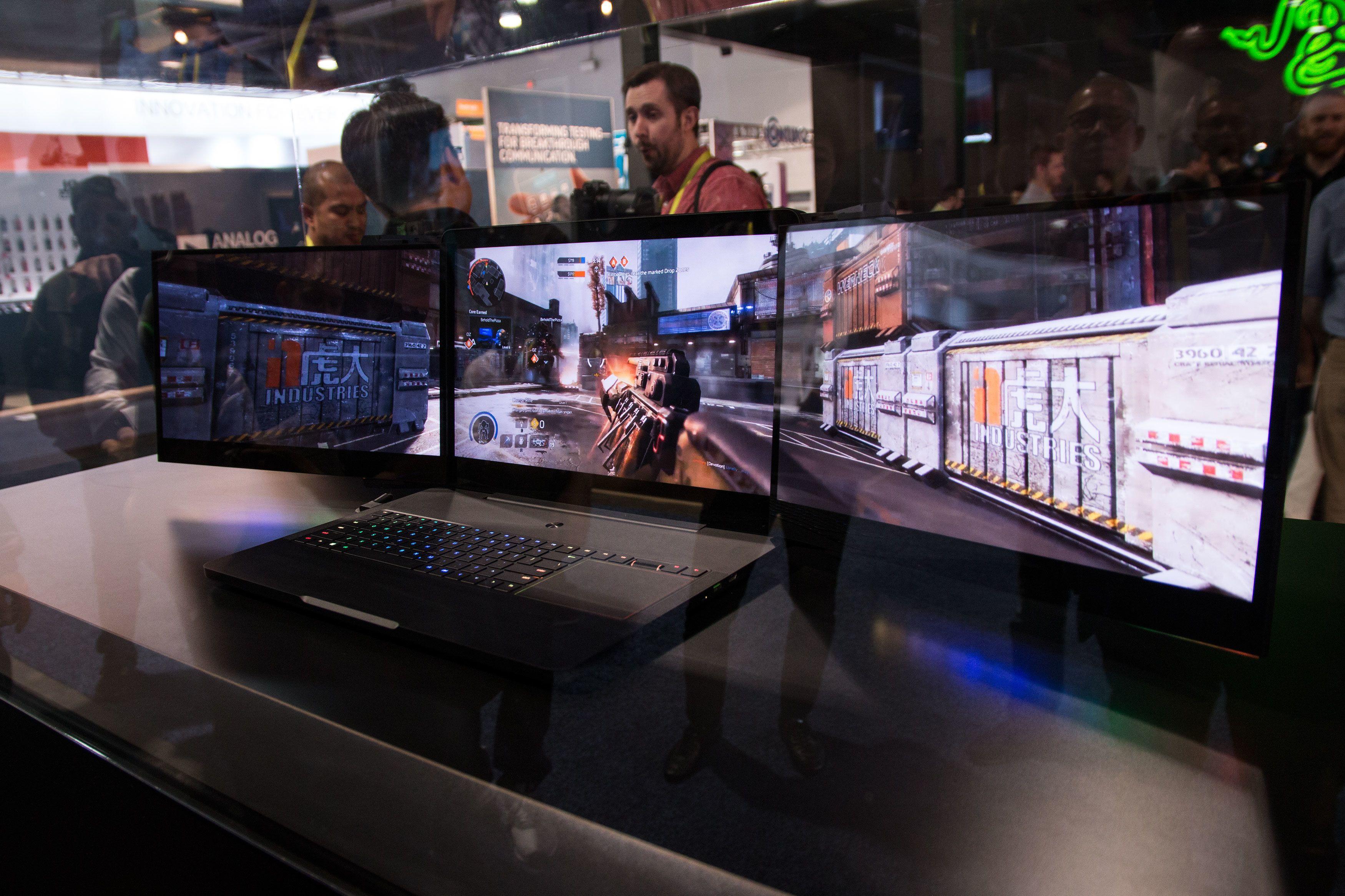 Spillbærbare blir stadig kraftigere og bedre, takket være Intels nye prosessorer og nye skjermteknologier.