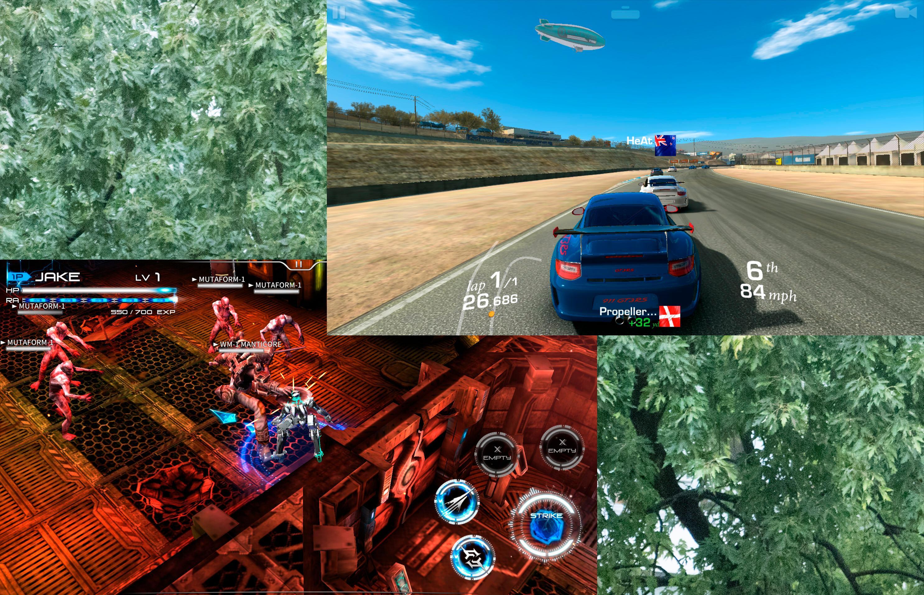 Xperia XZ klarer å drive heftige spill uten problemer.