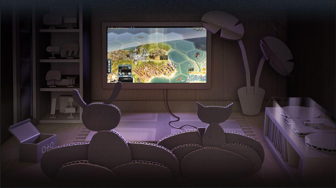 Steam vil inn i stua di. Foto: Valve