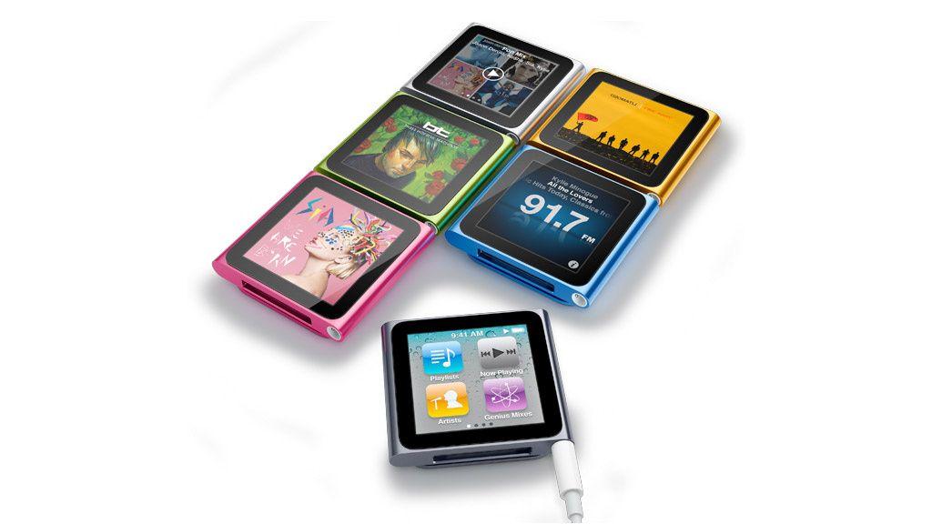 iPod Nano blir knøttliten