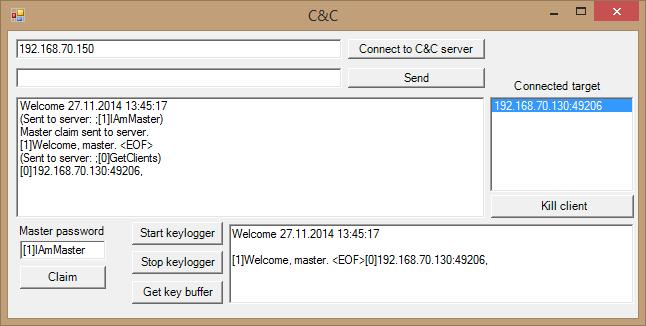 Først kobler hackeren til samme server som Java-appleten koblet til.Foto: Laget for Tek.no av NSM