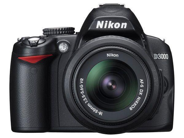 D3000 - Nikons nybegynnermodell.