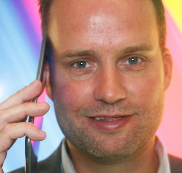 Stig-Ove Langø i Samsung.Foto: Amobil.no