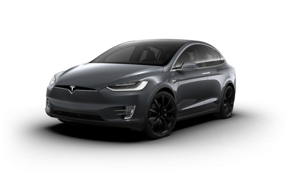 De største felgene Tesla tilbyr til Model X har en diameter på 22 tommer.