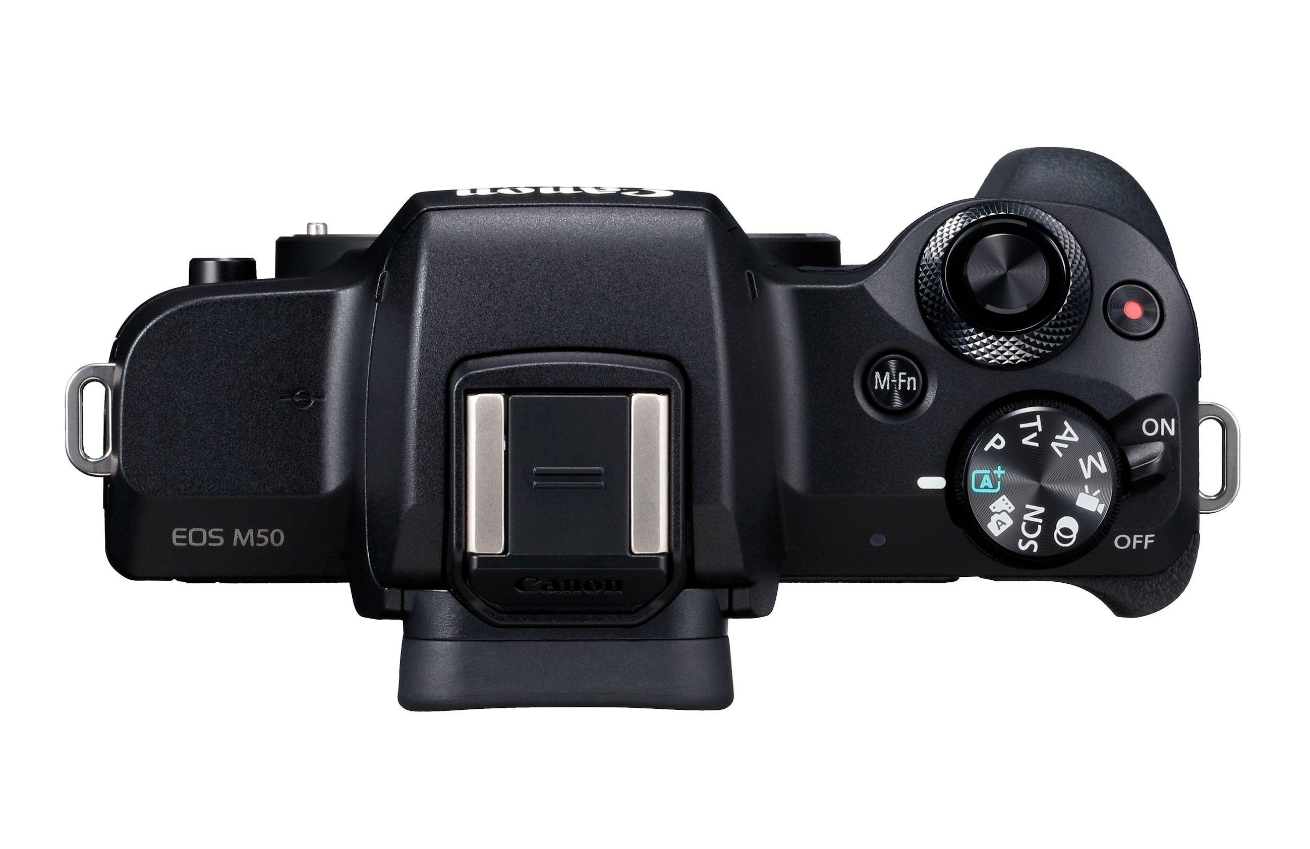 M50 får svært begrenset med knapper og knotter.
