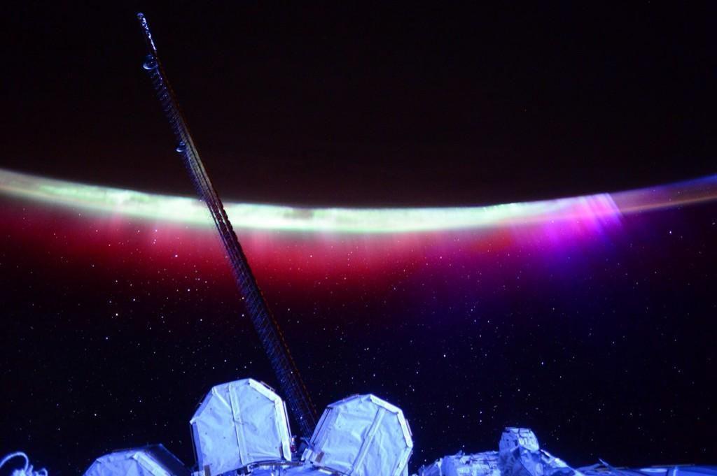 Et annet ferskt bilde lagt ut av Scott Kelly. Foto: ISS