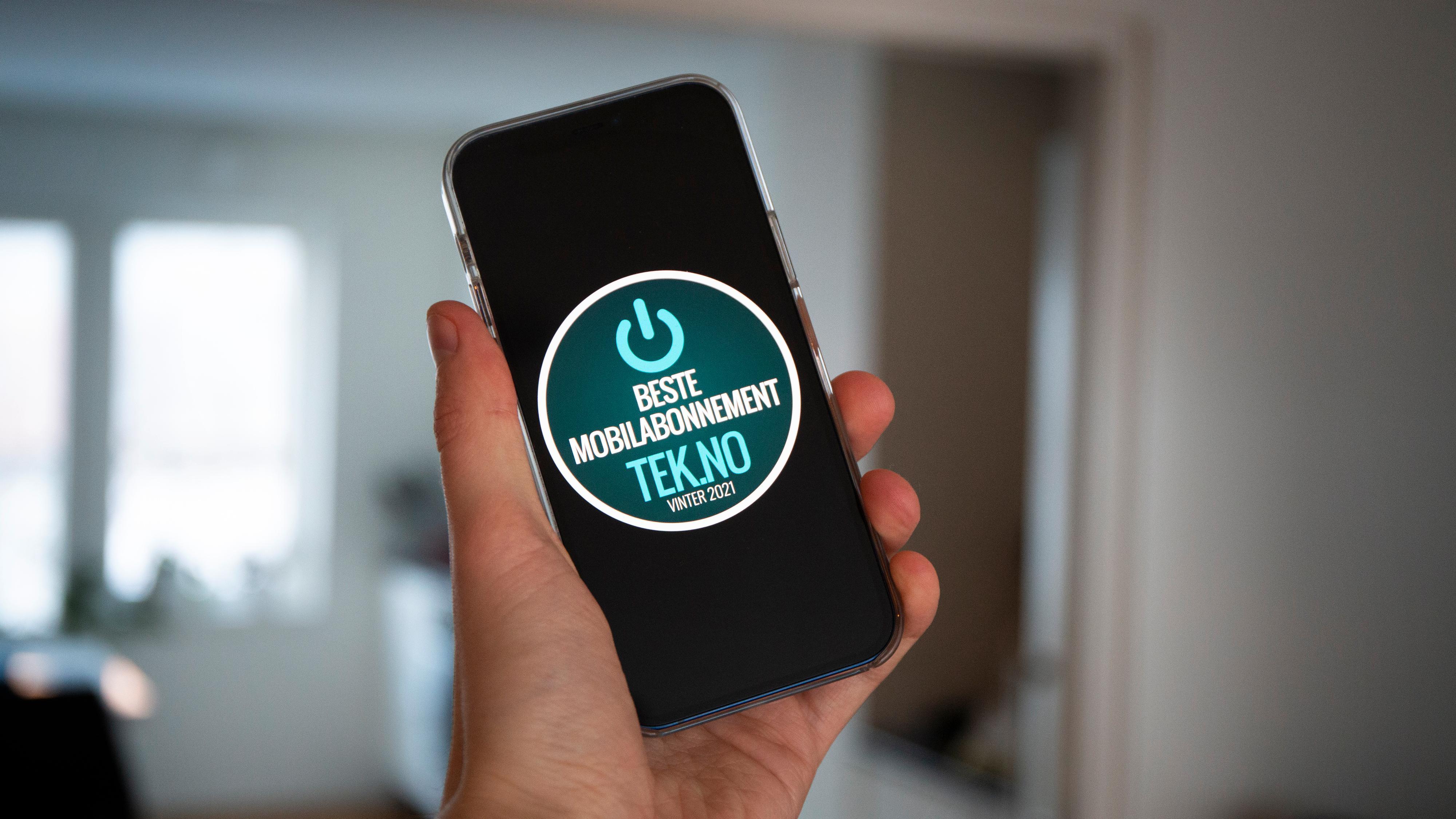 Vi har igjen kåret de beste mobilabonnementene i Norge.