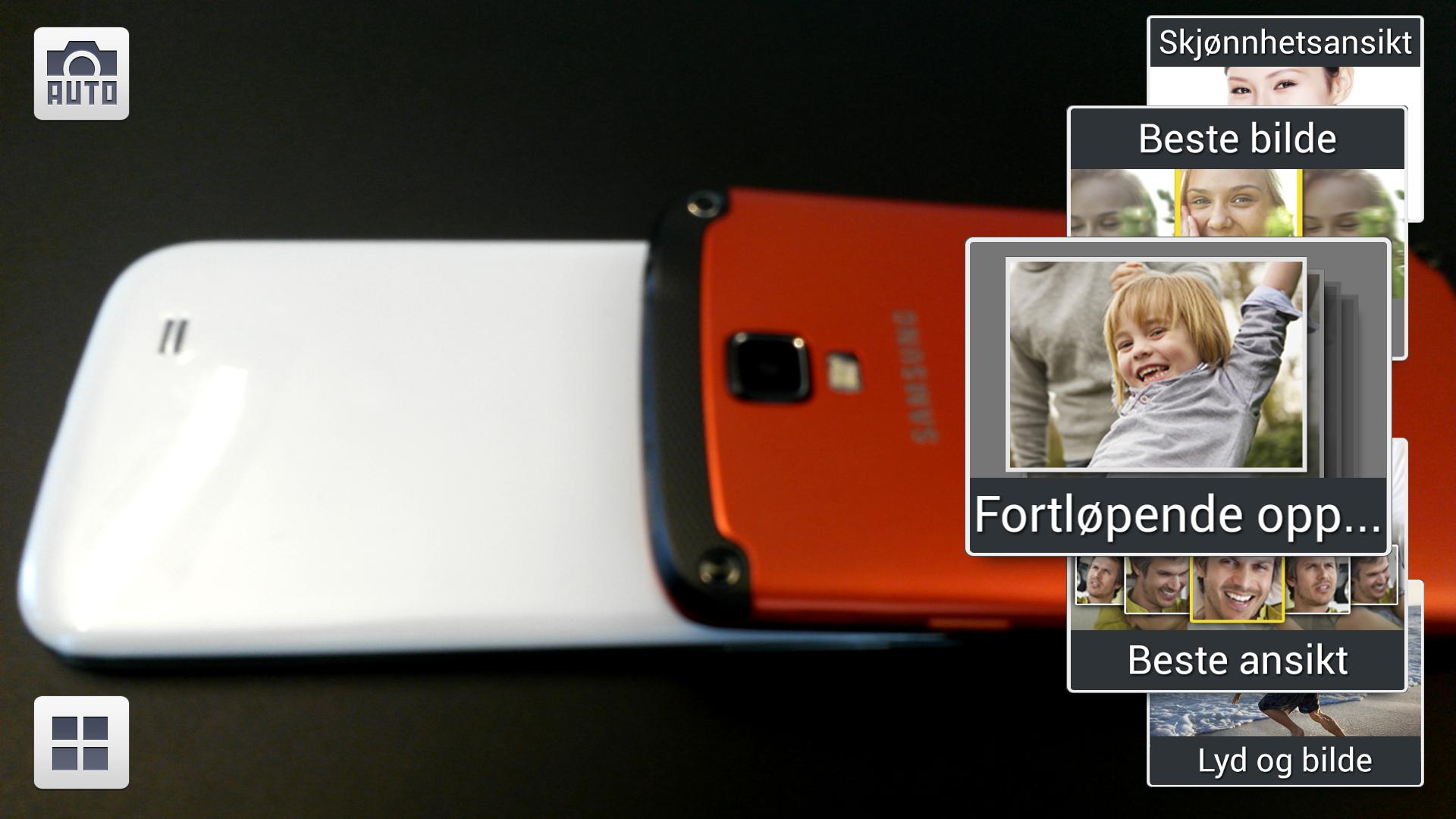 Samsungs kameraapp er blant de mest velutstyrte på markedet.