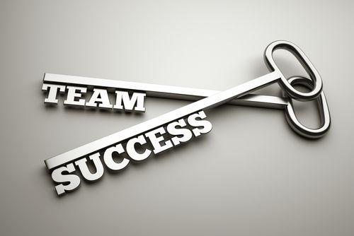 Samarbeid og suksess hører ofte sammen. Foto: ShutterStock