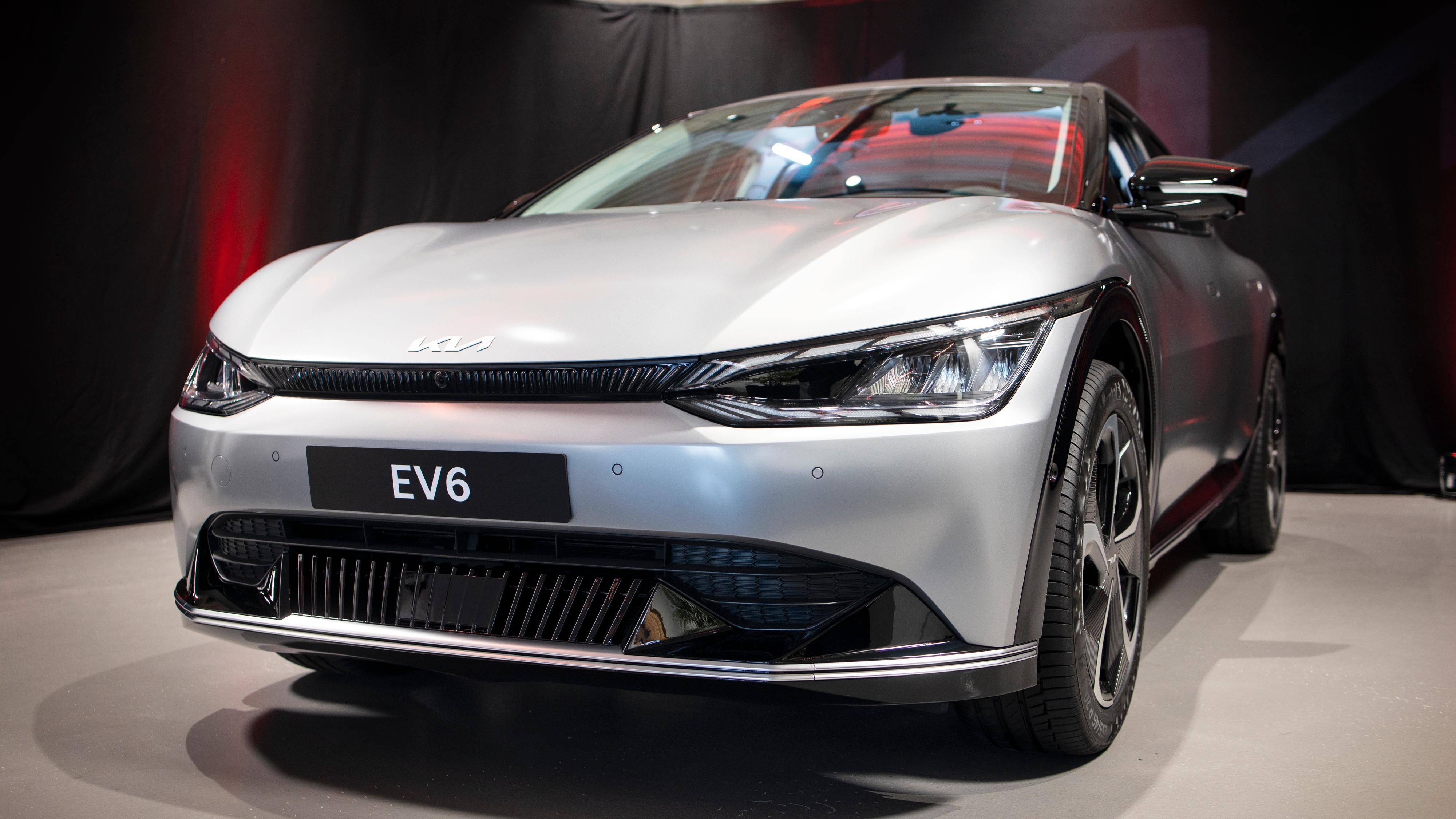 Sprekt design og full av teknologi: Her er Kias EV6 i Norge