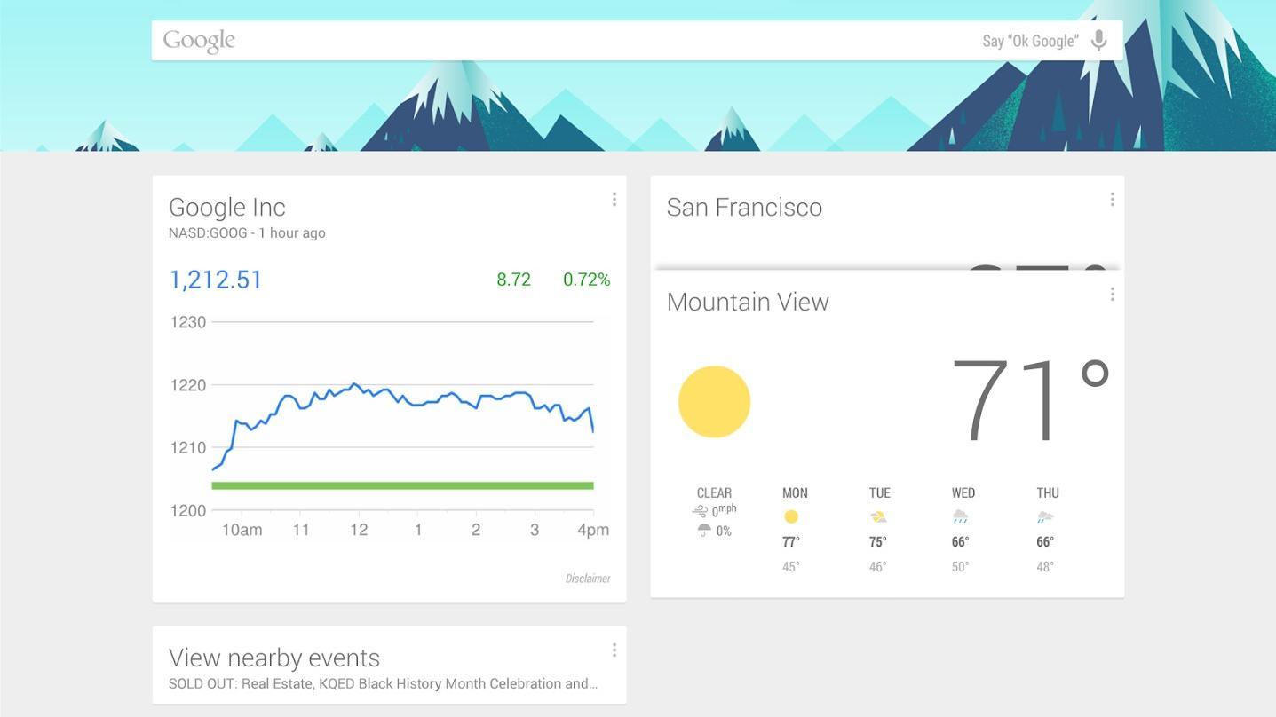 ZTE-mobiler får Google Now på startskjermen