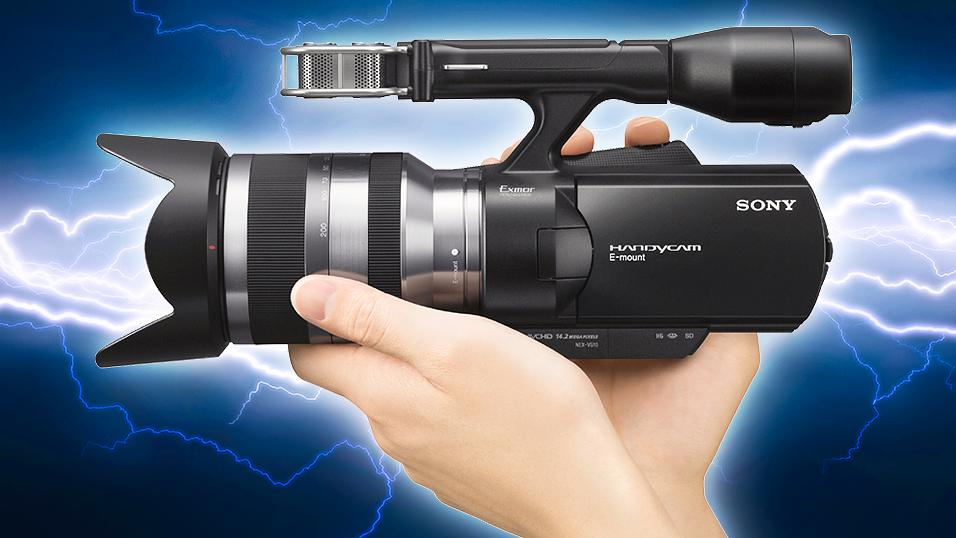 Sony Handycam får fullformatsbrikke